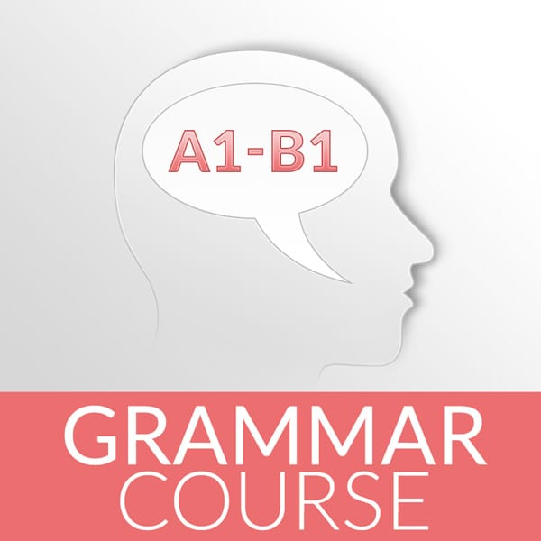 a1 - b1 German grammar course online