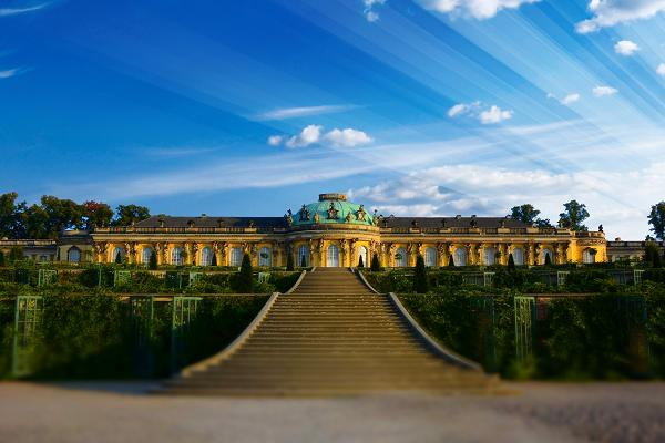 The Sanssouci Picture Gallery of Potsdam
