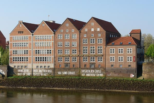 The Weserburg Museum of Modern Art in Bremen